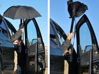 מטריה חכמה, קיקסטארטר RainBender Umbrella / צילום: וידאו