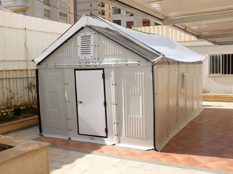 """בית מודולרי לפליטים, איקאה Better Shelter  / צילום: יח""""צ"""