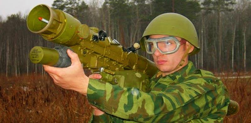 """טיל נ""""מ מתוצרת רוסיה verba 9K333 / צילום: וידאו"""