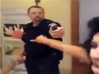 הישראלי המכוער, משטרה, גז מדמיע במלון דניאל / צילום: וידאו