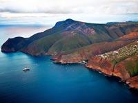האי סנט הלנה, דרום אפריקה, שדה תעופה, תיירות / צילום: וידאו