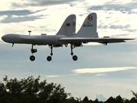 רחפן בצורת מטוס קרב, סוני Aerosense DTO1-E /צילום: וידאו