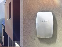 סוללה טסלה לקליטת חשמל לבית/ צילום: יחצ