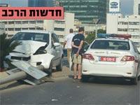 חדשות הרכב, תאונת דרכים / צילום: תמר מצפי