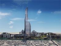 """המגדל הגבוה ביותר בעולם, בצרה, עירק, 1152 מטר AMBS Architects """"הכלה""""/ צילום: יח""""צ"""