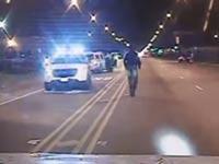 """ירי שוטרים ארה""""ב / צילום: מהוידאו"""