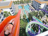 """פארק מים לגיל 18 ומעלה, מיורקה ספרד Hotel BH Mallorca / צילום: יח""""צ"""