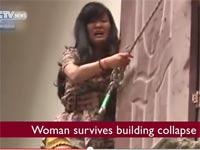 חילוץ דרמטי בסין/ צילום: מתוך הוידאו