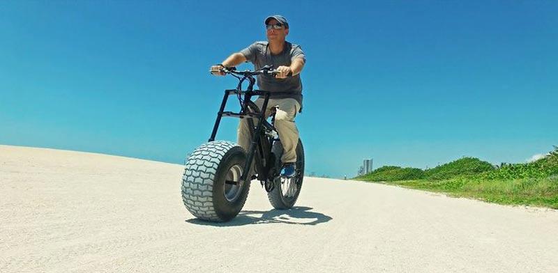 """אופני שטח חשמליים  Xterrain500 / צילום: יח""""צ"""