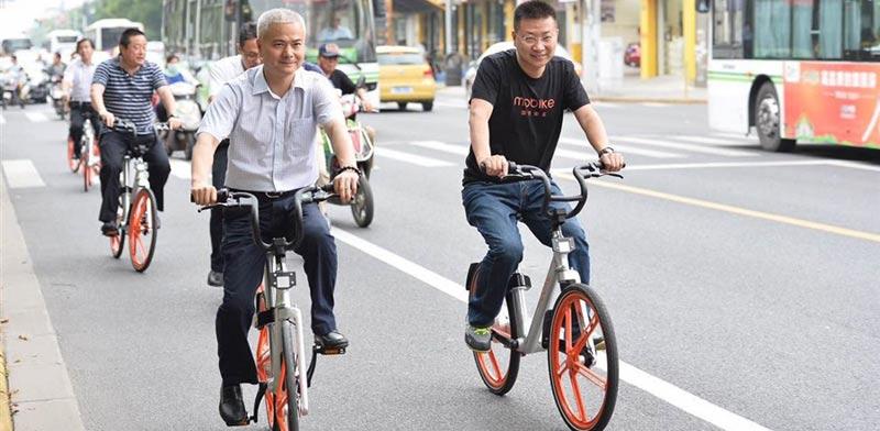 אופניים מקושרים, מערכת חכמה לאופניים, Mobike, סטארט אפ, סין, סינגפור / צילום: וידאו