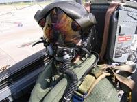 קסדת F-35 מטוס קרב לוקהיד מרטין / צילום: וידאו