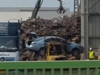 גריטת מכוניות בטר פלייס/ צילום: חדשות 2