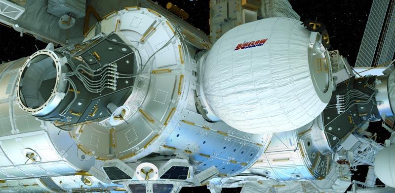 "דירות בחלל, נאס""א  Bigelow Expandable Activity Module  / צילום: וידאו"