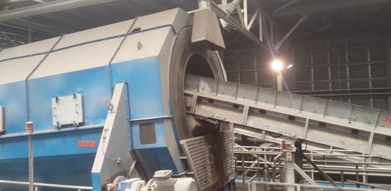 """מפעל המחזור הגדול במזה""""ת green netקבוצת ysb האחים יעקבי / צילום: וידאו"""