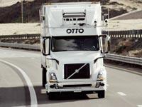 משאית ללא נהג אובר באדוויזר  Otto/ צילום: וידאו