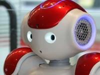 רובוט מקבל פני נוסעים בשדה התעופה בטוקיו / צילום: רויטרס