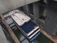 המעלית הגדולה ביותר בעולם, מעלית ספינות סין / צילום: וידאו