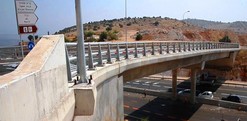 מחלף מסד-רביד, תשתיות, פרויקט הרחבת כביש 65-85, נתיבי ישראל / צילום: חברת נתיבי ישראל