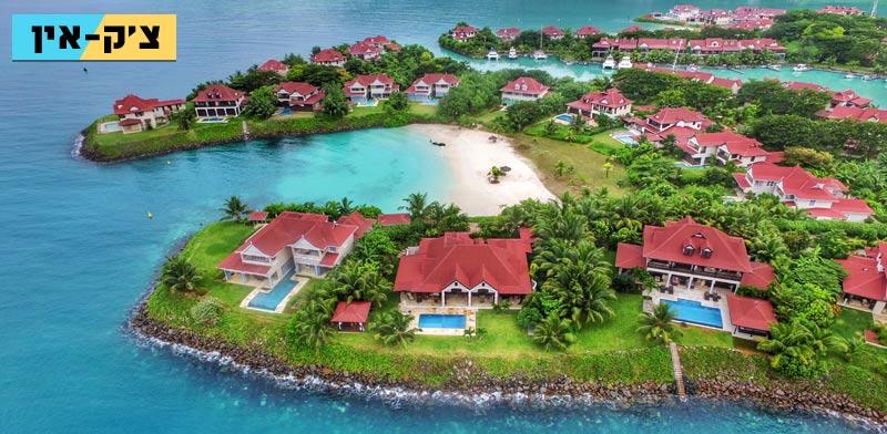"""איי סיישל, וילה, נדל""""ן, דירות נופש, צ'ק אין, תוכנית תיירות, Eden Island / צילום: יח""""צ"""