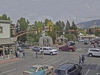 """עיירה בארה""""ב ג'קסון הול / צילום: מהוידאו"""