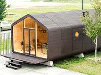 בית עשוי קרטון ב-300 אלף שקל, Wikkelhouse/ צילום: וידאו