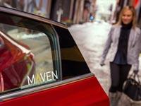 """שירות נסיעות משותפות ג'נרל מוטורס Maven GM Car-Sharing/ צילום: יח""""צ"""