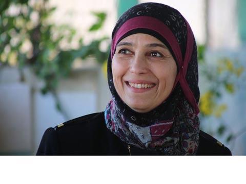 המורה הטובה ביותר בעולם, חנאן אל-חארוב, פלסטינית, מחנה פליטים / צילום: וידאו