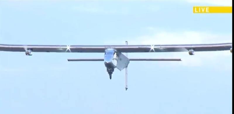 מטוס סולארי, טיסה מסביב לעולם / צילום: רויטרס