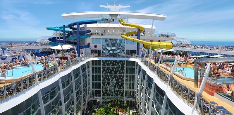 """ספינת התענוגות הגדול בעולם / צילום: יח""""צ"""