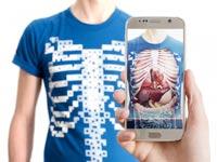 """חולצה וירטואלית לחקר הגוף Virtual Tee, קיקסטארטר / צילום: יח""""צ"""