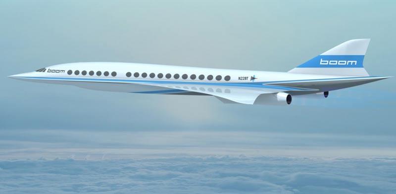 """מטוס נוסעים על קולי, Boom, קונקורד, וירג'ין, ריצ'ארד ברנסון / צילום: יח""""צ"""