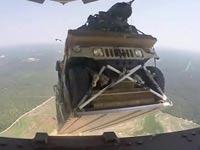 תרגיל האמר נזרק ממטוס/ צילום: מוידאו