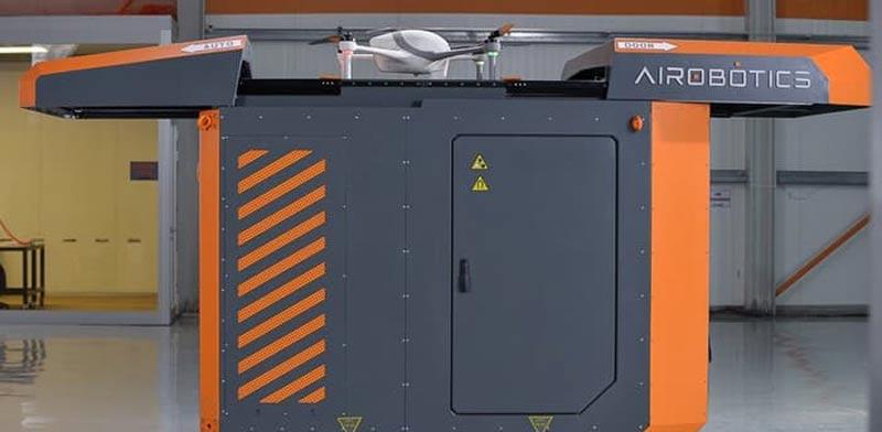 """פלטפורמה להפעלה אוטונומית של רחפנים, Airobotics UAV, סטארט אפ ישראלי / צילום: יח""""צ"""