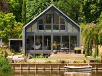 בית אמפיבי, משרד אדריכלים, בריטניה, נהר התמס Beka / צילום: Beka