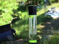 בקבוק חכם שהופך אוויר למים, סולארי, Fontus / צילום: וידאו
