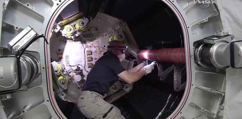 """חדר מתנפח בחלל, אסטרונאוטים, BEAM , תחנת החלל הבינלאומית, תיירות / צילום: יח""""צ"""