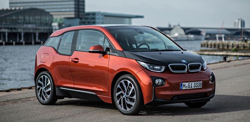 """חשמלית BMW I3 / צילום: יח""""צ BMW"""
