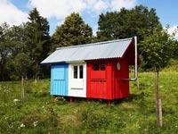 בית זעיר ב-1200 דולר, נבנה ב-3 שעות, בנייה מהירה, דיור France / צילום: Pin-Up Houses