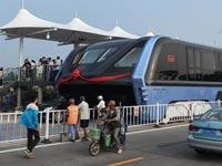 חשמלית רחבה סין TBS תחבורה עירונית טכנולוגיה / צילום: וידאו