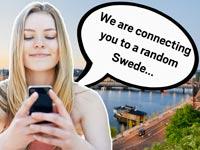 שיחה עם שוודי אקראי, קמפיין לעידוד התיירות בשוודיה / צילום: וידאו
