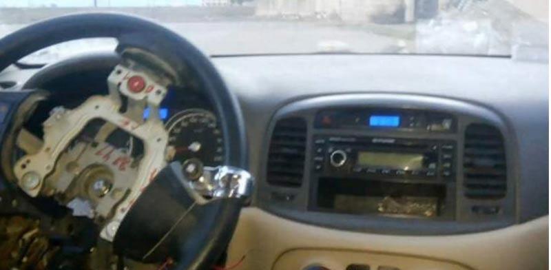 מכונית ללא נהג דאעש/ צילום: מהוידאו