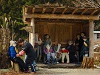 כפר הדחלילים ביפן/ צילום: רויטרס