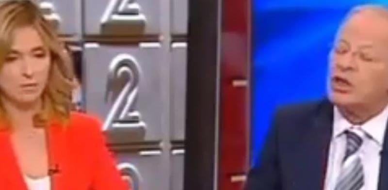 דנה ויס ואהוד יערי/ צילום: חדשות 2