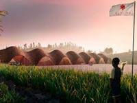 שדה תעופה לרחפנים, אפריקה / צילום: Foster & partners