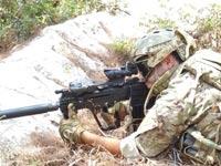 """כדור 5.56 חדש תע""""ש תערוכת נשק ירי חיילים, צה""""ל / צילום: יח""""צ"""