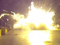 חברת SpaceX טילים לחלל, התרסקות, אלון מאסק / צילום: וידאו