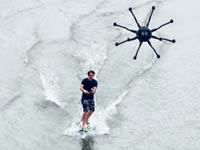 רחפן לגלישת גלים וסקי מים/ צילום: מהוידאו