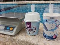 מקדונלדס, גלידה, השוואת גודל הגביע/ צילום: דפי הירשפלד שלם