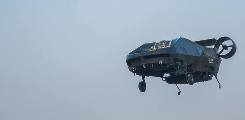 כלי תחבורה מעופף לחילוץ והצלה, פרד מעופף, Airmule / צילום: Urban Aeronautics