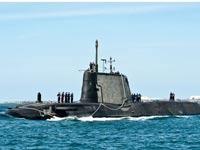 """צוללת בריטית, טורפדו עם """"מוח"""", HMS Artful, צבא בריטניה / צילום: וידאו"""